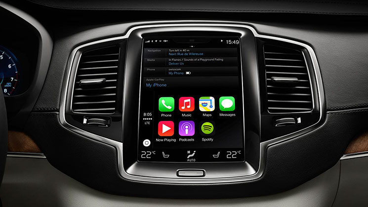 Apple CarPlay XC90